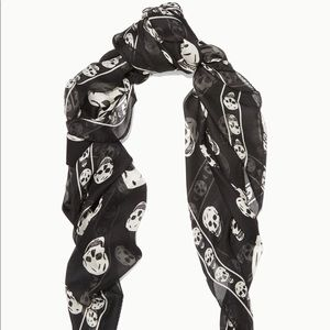 Alexander McQueen Classic Silk Skull Scarf